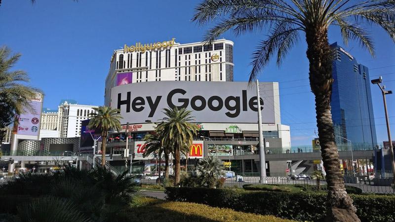 hey google ces las vegas